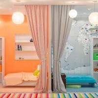 зонирование детской комнаты фото 48