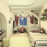зонирование детской комнаты фото 52