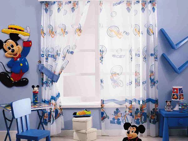 детские шторы для мальчиков фото