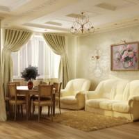 гостиная в классическом стиле фото 21