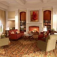 гостиная в классическом стиле фото 27