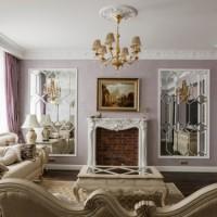 гостиная в классическом стиле фото 3