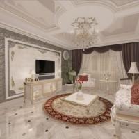 гостиная в классическом стиле фото 30