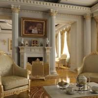 гостиная в классическом стиле фото 31