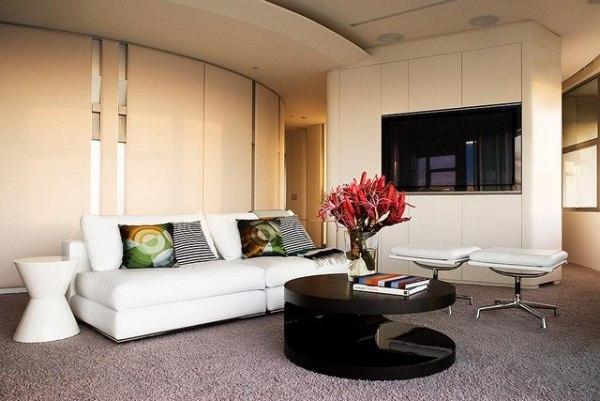 гостиная в стиле модерн фото 16
