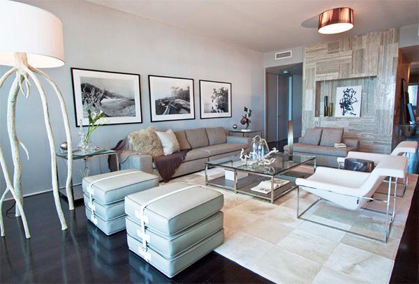 Комната в стиле модерн фото