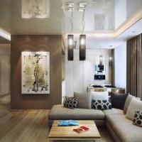 гостиная в стиле модерн фото 40