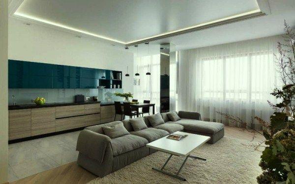 Дизайн квартиры в современном стиле фото 14