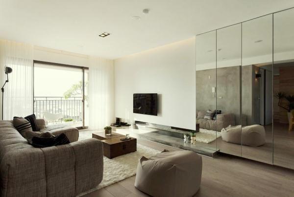 интерьер квартиры в современном стиле фото 2