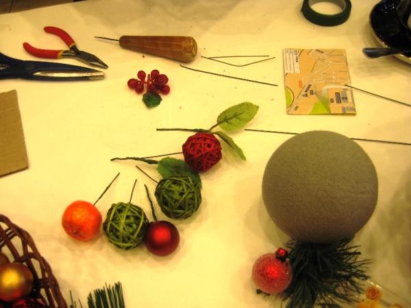 Новогодний топиарий своими руками: мастер класс новогодних украшений, идеи декора подручными средствами