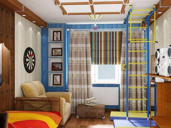 шторы для детской для мальчика фото 2