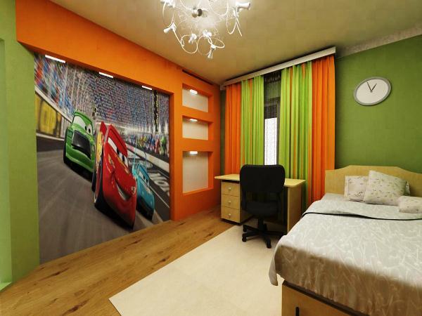 шторы для спальни для мальчика фото