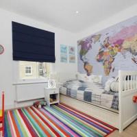 шторы в детскую комнату для мальчика фото 16