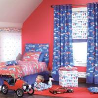 шторы в детскую комнату для мальчика фото 17