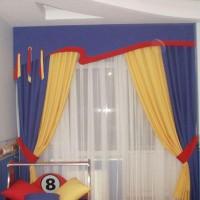 шторы в детскую комнату для мальчика фото 26