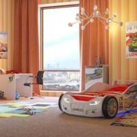 шторы в детскую комнату для мальчика фото 37
