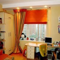 шторы в детскую комнату для мальчика фото 38
