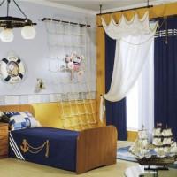 шторы в детскую комнату для мальчика фото 5
