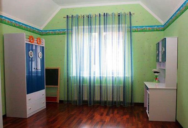 занавески для детской комнаты мальчика фото