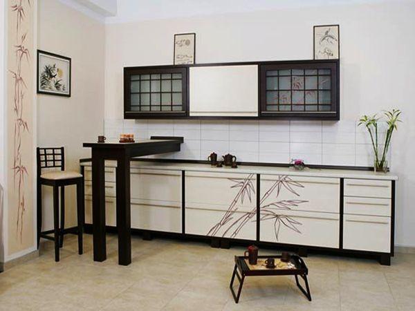 кухонная мебель в японском стиле фото