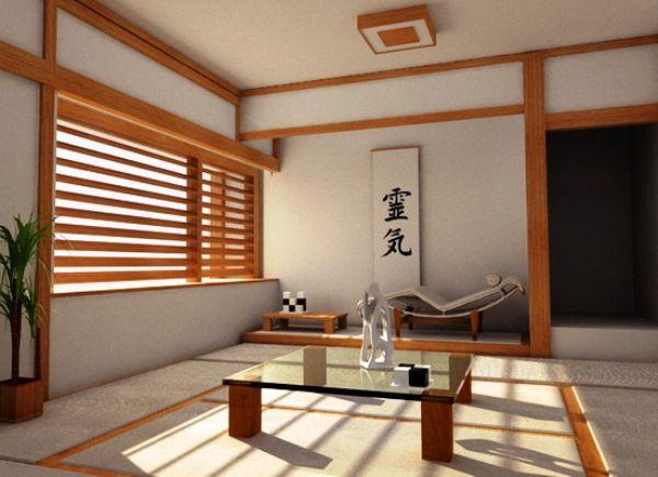комната в японском стиле фото