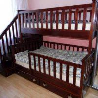 двухъярусная кровать для детей фото 14