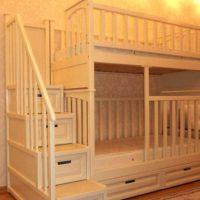 двухъярусная кровать для детей фото 21