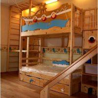 двухъярусная кровать для детей фото 23