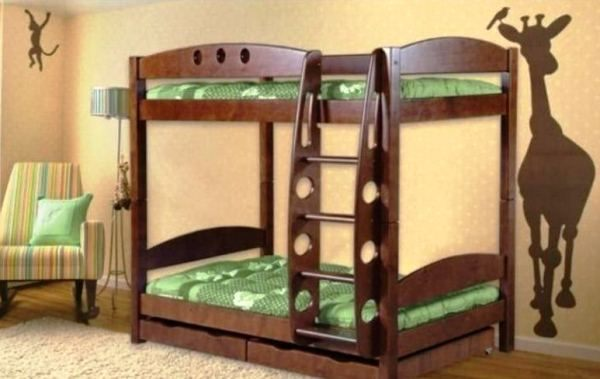 двухъярусная кровать для детей фото 3