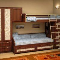 двухъярусная кровать для детей фото 38