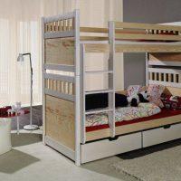 двухъярусная кровать для детей фото 46