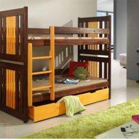 двухъярусная кровать для детей фото 47