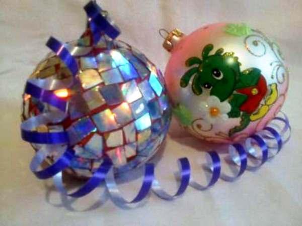 новогодние украшения своими руками фото 2