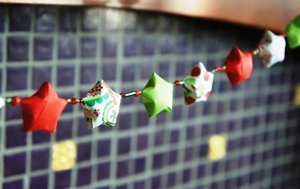 новогодние гирлянды своими руками фото 7