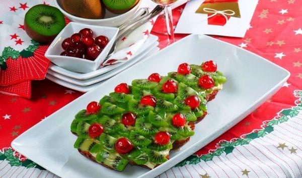 Украшение фруктовых десертов к праздничному столу фото