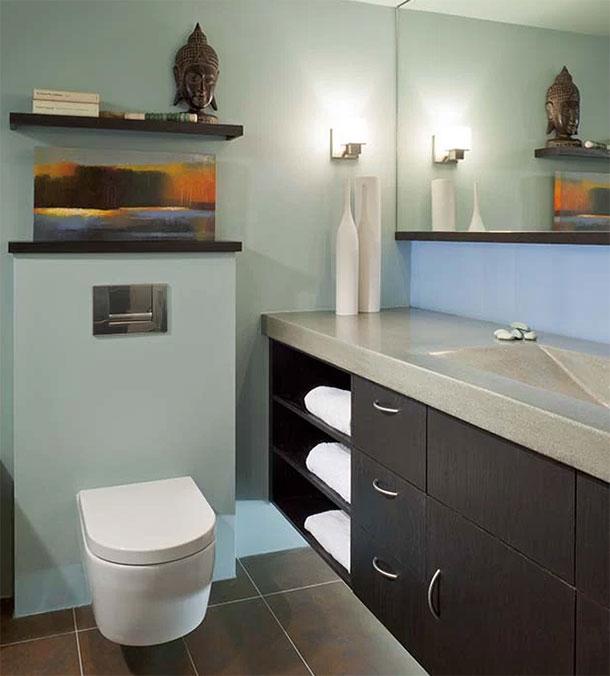 ремонт туалета в квартире фото