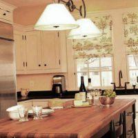 образцы штор на кухню фото 16