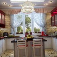 образцы штор на кухню фото 2