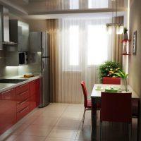 образцы штор на кухню фото 3