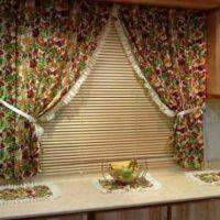образцы штор на кухню фото 34