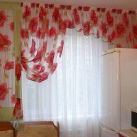 образцы штор на кухню фото 41