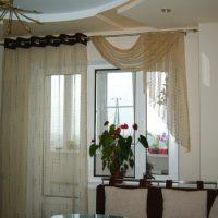 образцы штор на кухню фото 45