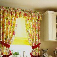 образцы штор на кухню фото 51
