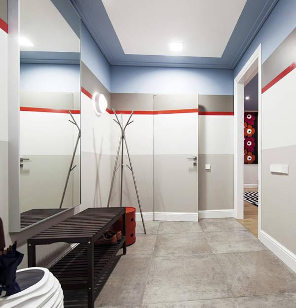 потолки в прихожей дизайн фото