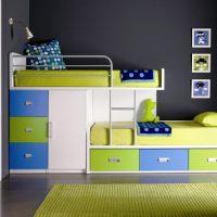 детская спальня для двоих детей фото 13