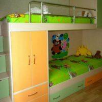 детская спальня для двоих детей фото 16