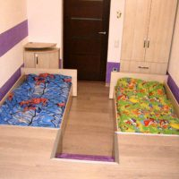 детская спальня для двоих детей фото 21