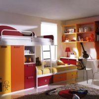 детская спальня для двоих детей фото 24