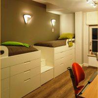 детская спальня для двоих детей фото 25