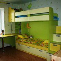 детская спальня для двоих детей фото 27